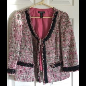 INC International Concepts Tweed Blazer